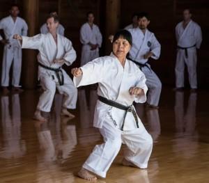 Yodan Hiroko Mori Tekki Shodan 23 Feb. 2014